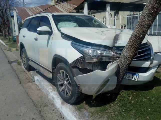 Se accidentó el hijo de la diputada Esther González