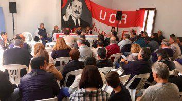 La UCR promete ganar en la provincia