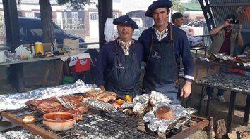 Calidad. El equilibrio justo entre el fuego, el tiempo y la carne lo tienen Giménez y Michel.