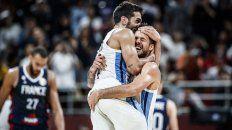 El registro. Argentina llega sin perder ningún partido a esta instancia, con siete triunfos, siendo el último contra Francia, un equipo con cinco jugadores NBA.