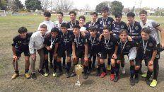 Los campeones. Paraná se consagró ante Chajarí. Foto: Liga de Basavilbaso