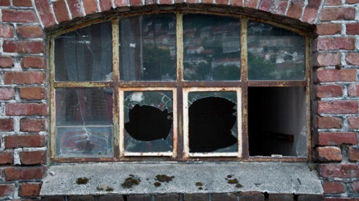 La teoría de las ventanas rotas.