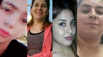 Navila Garay; Cecilia Boudart, Cielo López y Vanesa Caro fueron asesinadas.