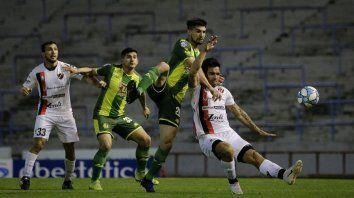 Patronato rescató un empate en el final ante Aldosivi