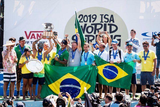 Brasil campeón por equipos.