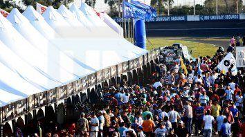 Colmado. Se espera un trazado del Club de Volantes Entrerrianos con mucho público para ver a la Más Popular.