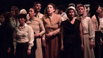 Puesta. La obra se estrenó a fines de 2018 con dramaturgia, puesta en escena y dirección de Ana Woolf.