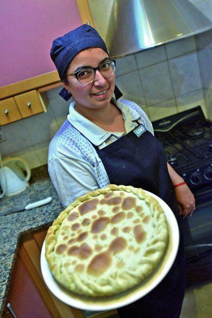 Mirna Duré cocina tarta de cebolla y crema