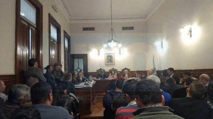 Datos filiatorios. Celis contó datos internos de su familia. Foto Javier Aragón