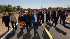 Inauguración. Se habilitó un tramo de cinco kilómetros de pavimento entre Tezanos Pinto y Oro Verde, en Paraná Campaña