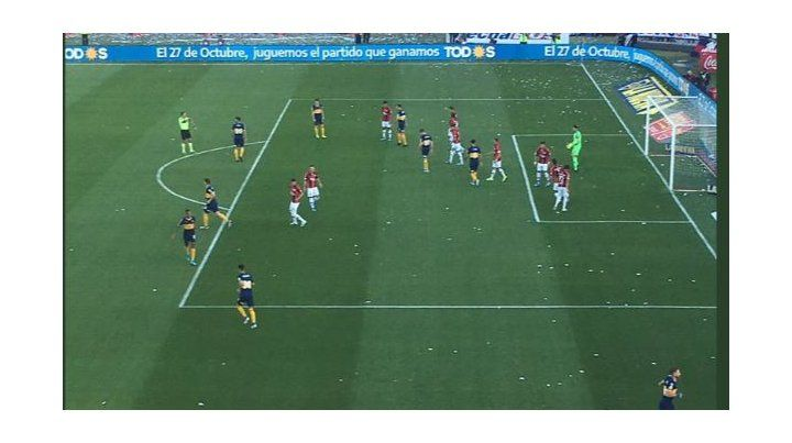 Boca le ganó a San Lorenzo y sigue como único puntero