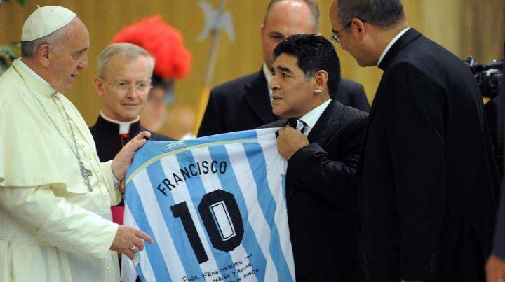 Diego ya volvió... ahora falta Francisco