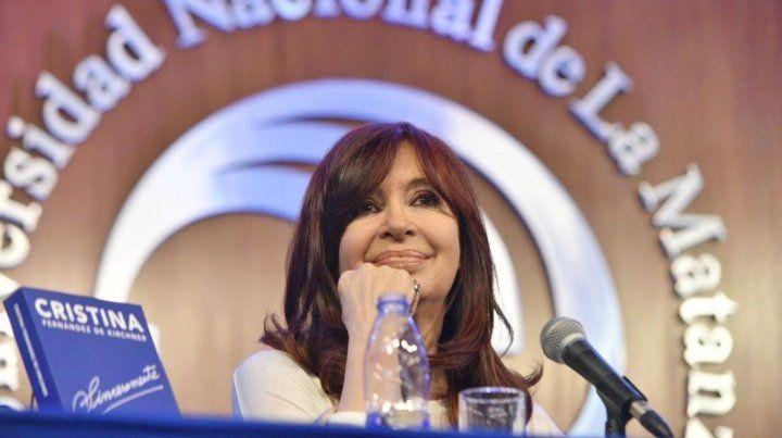 Cristina: No crean que este fracaso es por la impericia de un presidente