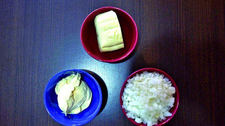 Una cremosa y rápida tarta de cebolla
