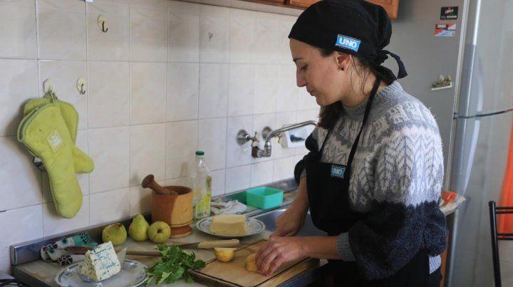 Luciana Actis y una receta para sorprender a sus amigos