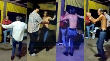 Las imágenes pertenecen a un video de 2017. Según la denunciante no es la primera vez que utilizan al hombre para burlarse.