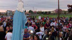 celebran patronal de la virgen del rosario de san nicolas