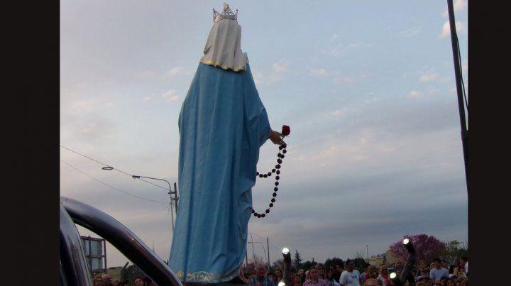 Hoy se realiza la fiesta patronal de la Virgen del Rosario de San Nicolás