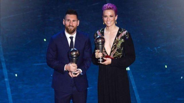 La futbolista del año dedicó premio a la lucha contra el racismo y a las mujeres iraníes