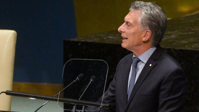 Reclamo. El Presidente renovó su reclamo por la soberanía de Malvinas.