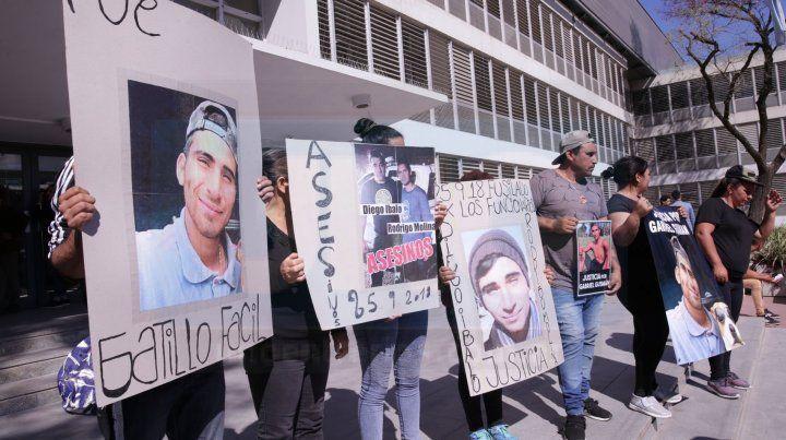 El reclamo en Tribunales: Basta de pibes muertos por la bala policial
