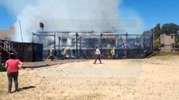 perdidas totales en parador del thompson por un incendio
