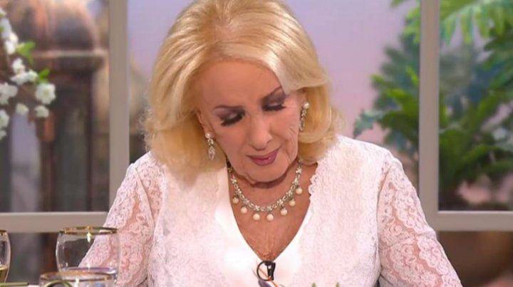 Mirtha Legrand volvió a hablar de su retiro de la TV