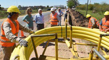 se amplia la red de gas natural y beneficiara a unas 900 familias