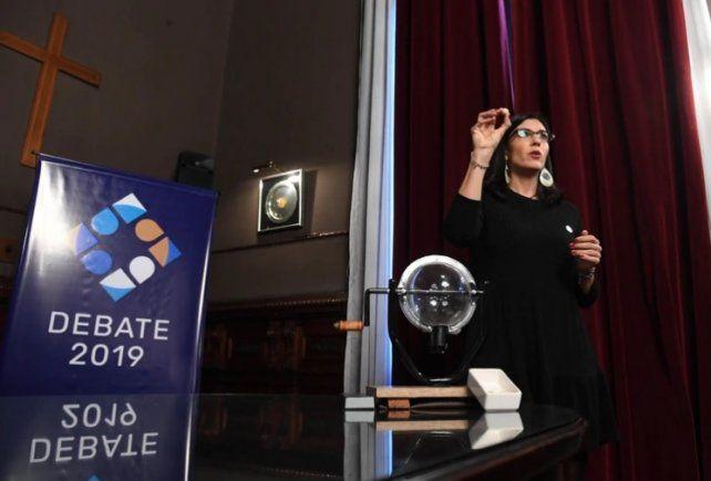 Macri abrirá el primer debate presidencial