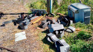 en pocos dias hurtaron cinco transformadores en colon y san salvador