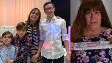 En familia. Silvana y sus afectos celebraron en La Histórica y Norma, un lustro con UNO.