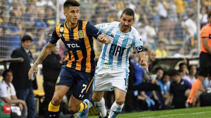 Igualdad entre Rosario Central y Racing