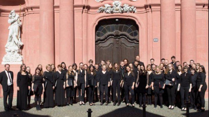 Argentina y Alemania en un concierto coral