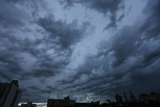 Se esperan tormentas fuertes y caída de granizo