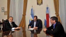 Bordet firmó la presentación judicial el 27 de agosto, junto al fiscal de Estado y el ministro de Economía.