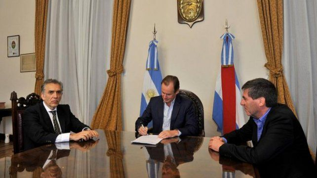 Bordet firmó la presentación judicial el 27 de agosto