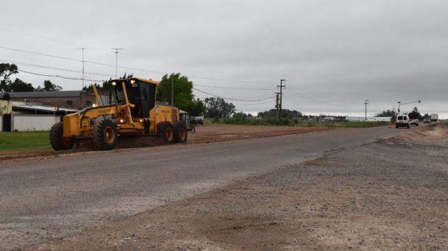 Intervención en más de 30 kilómetros. La obra había sido licitada a fines del año pasado.
