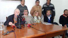 agresion a varisco: conferencia de prensa de radicales