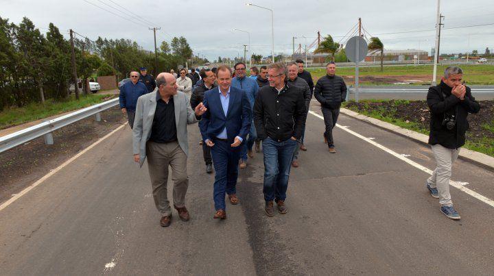 Bordet continuará definiendo con los intendentes las obras estratégicas
