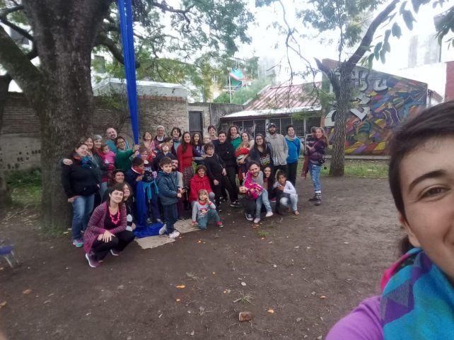 La foto grupal.