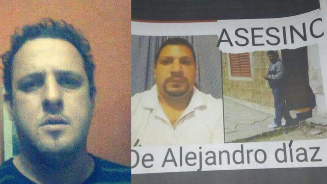 Desacuerdo. Familiares de Díaz expresaron su malestar ante el posible acuerdo de pena con González.