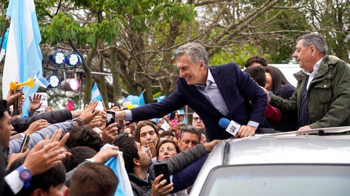 Video: Macri encabezó el acto en La Paz