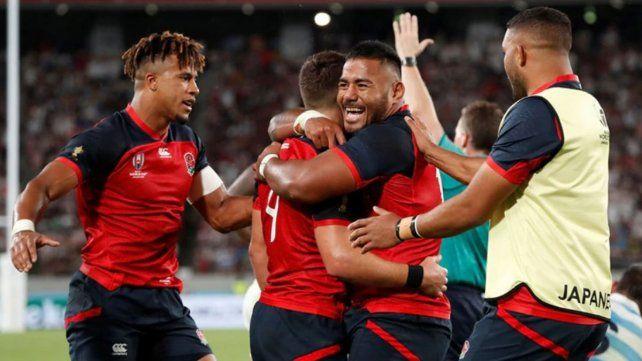 Los Pumas no pudieron ante Inglaterra y quedaron prácticamente afuera del Mundial