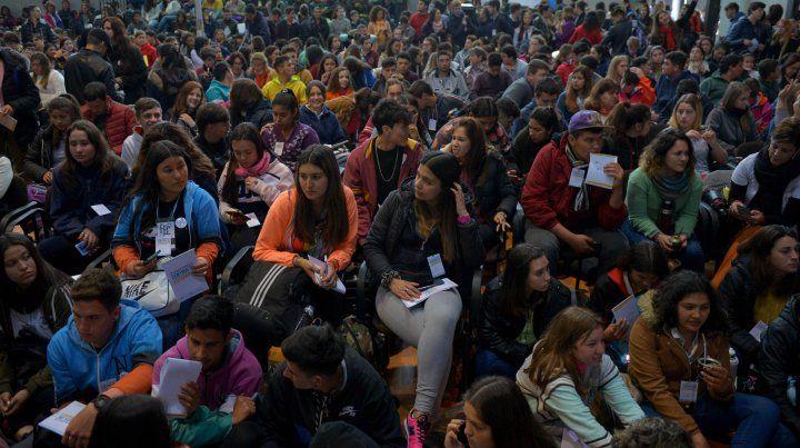 Casi 800 personas participaron del II Encuentro Provincial de Centros de Estudiantes