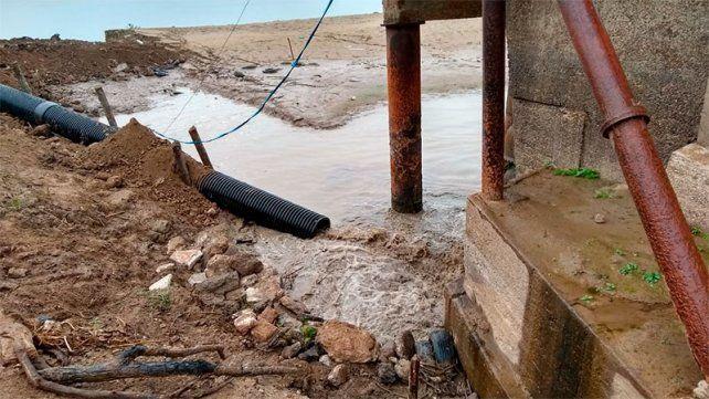 El río Paraná sigue muy bajo.