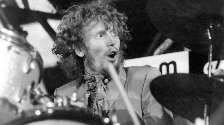 Murió Ginger Baker, el mítico batería de Cream