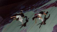 Variedad. Danza con arnés, mapping y DJ, bailarines freestyle, de danza jazz, artistas de palo chino y plásticos.