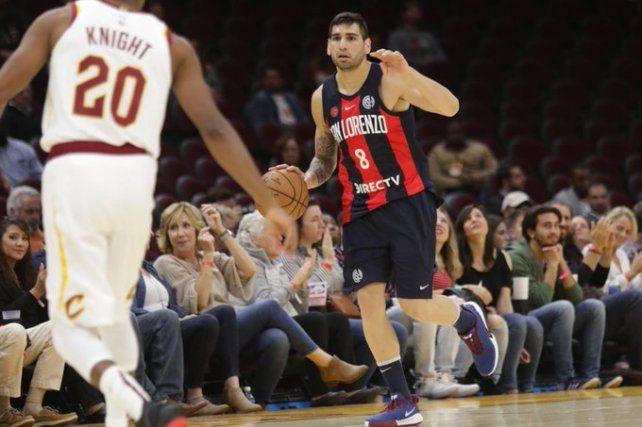 Dos paranaenses enfrentaron a un equipo de la NBA