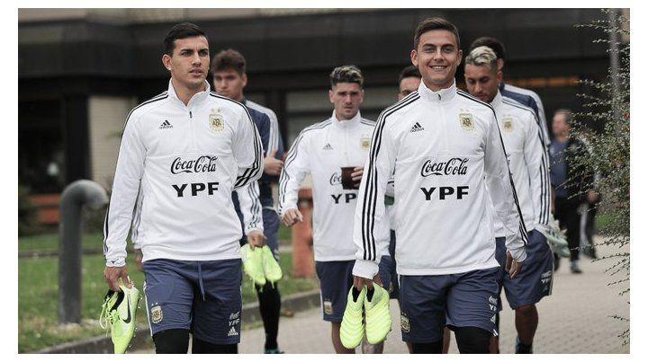 Paredes y La Joya serán titulares frente a los alemanes.