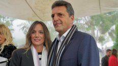 Malena y Massa en campaña.